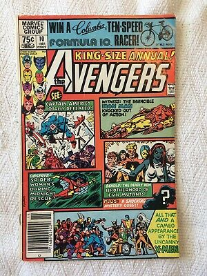 Avengers Annual 10 Nov 1981 G/VG First Rogue Good/Very Good