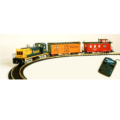 Usa Trains G Scale | Santa Fe Nw-2 Starter Set | 1 Business Day Hndlg | R72301