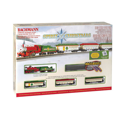 Bachmann N Scale Spirit Of Christmas Train Set | Ships In 1 Business Day | 24017