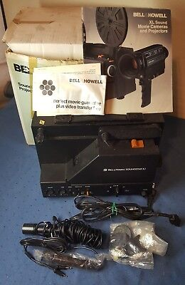 Bell & Howell Soundstar XJ Super 8mm Sound Movie Film Projector With Box