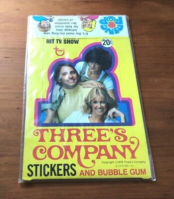 1978 Topps Three's Company - Empty Display Box