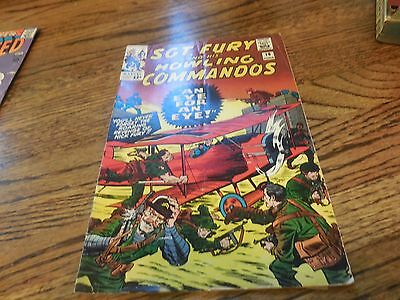 Sgt. Fury And His Howling Commandos #19. 1965.VG.