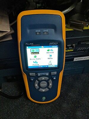Fluke Networks AirCheck Wireless Wi-Fi Tester - Charger NOT Included