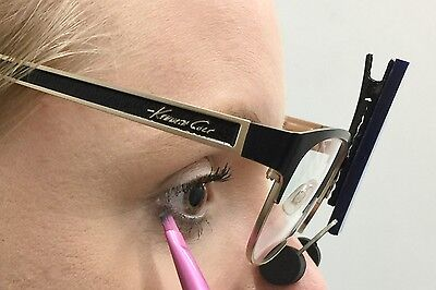 Apply Eye Makeup Wearing Your Glasses with SpecsUp - Unique Makeup Tool