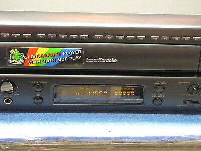 Pioneer CLD-V840 With Remote Karaoke Play Both A&B Side Play