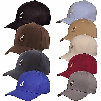 9ee6341041b KANGOL Wool Flexfit Baseball Cap 8650BC multi Colors S M L XL XXL ...