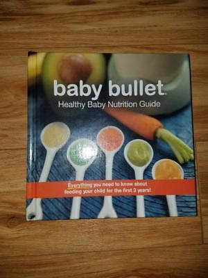 New Baby Bullet Nutrition Guide - Make Baby Food - Recipes HTF