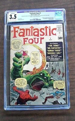 Fantastic Four #1 CGC 3.5 Nov. 1961...