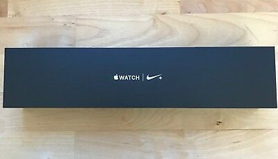 Apple Watch Series 2 42mm Nike Space Gray aluminum EMPTY BOX NO WATCH