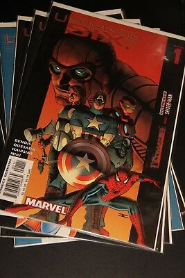 MARVEL Comics ULTIMATE SIX - Issues 1-6 - NM/M - Spider-Man + The Ultimates