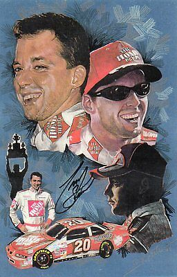 Tony Stewart Nascar Rookie Driver Of The Year 1999 Photo