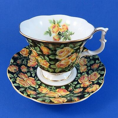 Royal Albert Merrie England Series Chatsworth Tea Cup and Saucer Set
