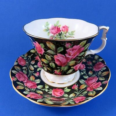 Royal Albert Merrie England Series Trentham Tea Cup and Saucer Set