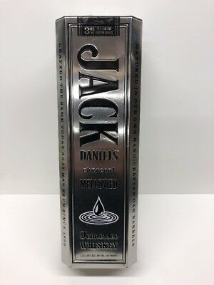 Empty JACK DANIELS Old No7 Whiskey Collector  Metal Tin Can 2nd Limited EditionC