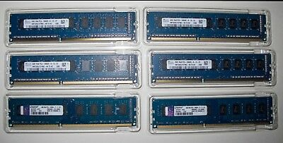 (2) x 4GB Kingston & (4) x 2GB SK hymix RAM Bundle - Total 16GB Ram