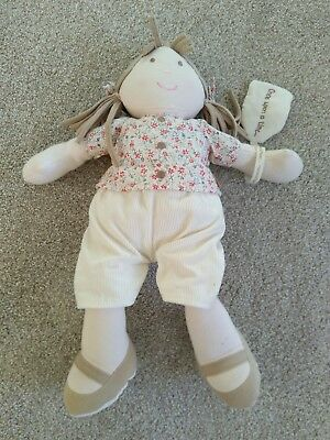 Mamas And Papas Once Upon A Time Berry Rag Doll very good Condition