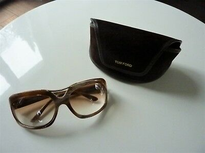 Tom Ford 100% original Sonnenbrille Horn mit Etui NP 698 EUR  nw