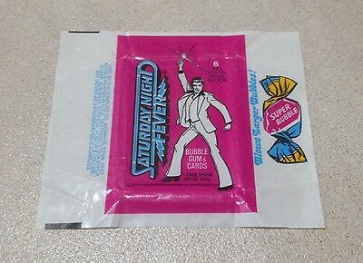 1977 Donruss Saturday Night Fever Trading Cards - Wax Pack Wrapper