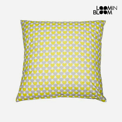 Cuscino Love Pistacchio (60 x 60 cm) - Little Gala by Loom In Bloom