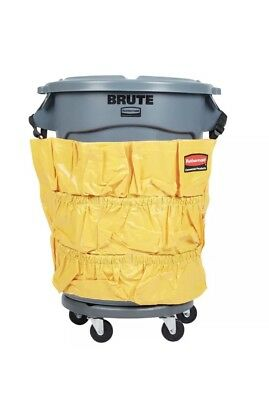 NEW Rubbermaid Brute Round Container Caddy Bag Janitorial Bag