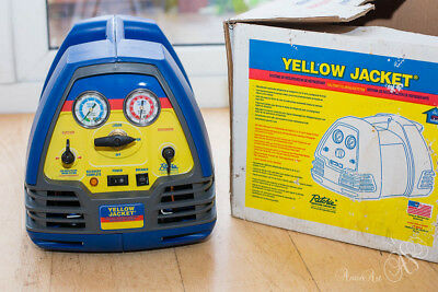 Yellow Jacket 95763 Recovery RecoverXLT Machine, brand new