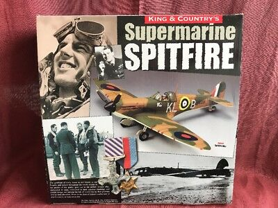King & Country RAF016 Supermarine Spitfire Mk.1 (OVP) King and Country