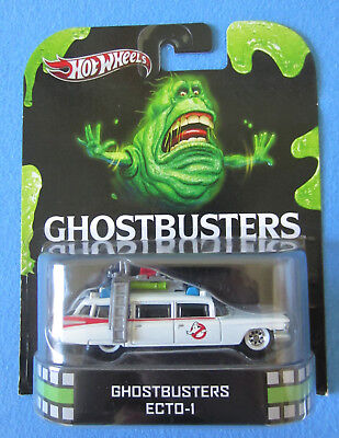 Hot Wheels Ghostbusters Ecto-1 Retro Entertainment NEU Real Riders
