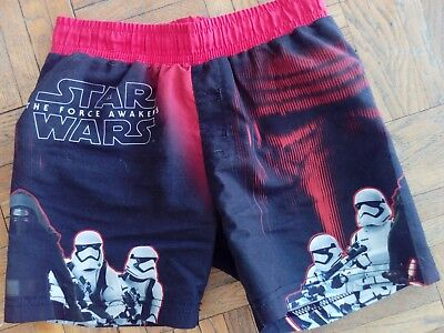 short de bain STAR WARS 8 ans