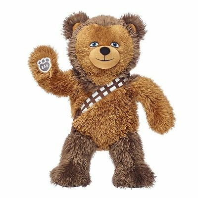Star Wars Build A Bear Chewbacca Bear Disney 025451 NEW WITH TAGS!!