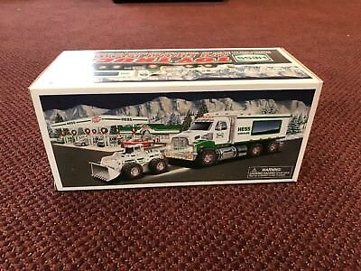 Hess 2008 Toy Truck and Front Loader - NEW!!!!