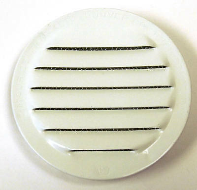 """Insect-proof Mini Louvers, White, 2"""", 6 PK., Maurice Franklin, RLW-100 2"""