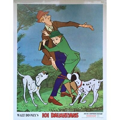 101 DALMATIANS Lobby Card N01  - 11x14 in. - 1961 - Walt Disney, Rod Taylor