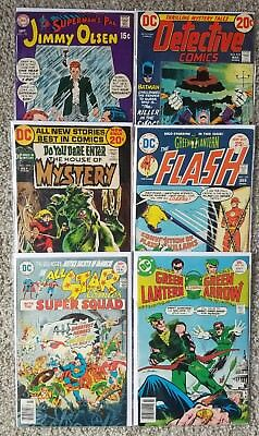 Superman, Batman, House Of Mystery, Flash - Silver Age DC Comics Lot!