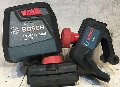 Bosch GLL 30 Self Leveling Laser with Bosch MM2 Mount Included!