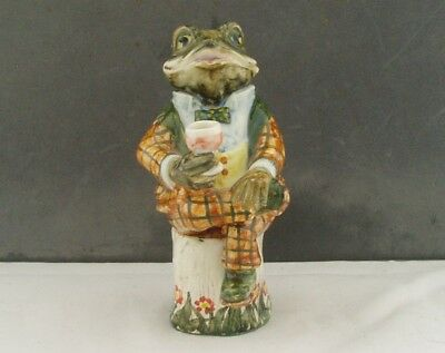 Cinque Ports Pottery Rye Country Gentleman Series Mr Toad Figurine