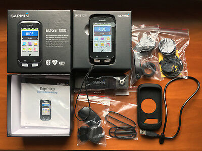 Garmin Edge 1000 Bundle mit Silikonhülle