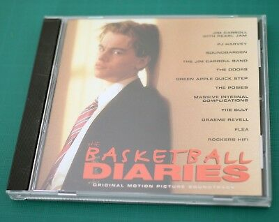 The Basketball Diaries Original Soundtrack Cd - Used - Very Good Condition