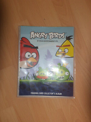 Angry Birds*Sammelmappe*Trading card collector`s Album *