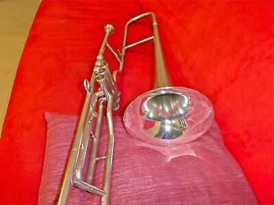 vintage Swiss WILLSON valve trombone, nice condition,YAMAHA 51 mpc, pro quality