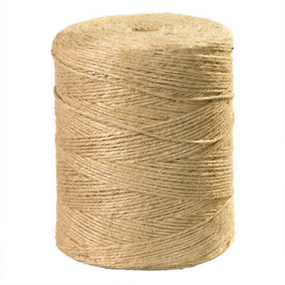 10m-50m Metre Natural Brown Shabby Style Rustic Twine String Shank Craft Jute