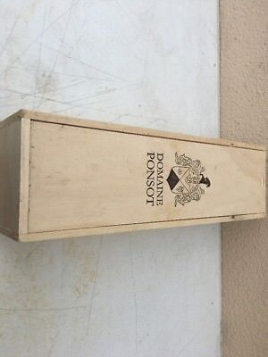 Wine Box Case Crate French Domaine Ponsot One 3 Liter Jeroboam