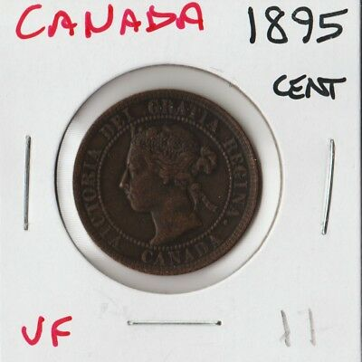 Canada 1895 | One Cent 1¢ | Vf