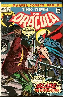 The Tomb Of Dracula # 10 First Appearance Blade  1972 Gene Colan