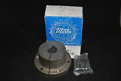 "138651 New Open Box, Martin SK 1 QD Bushing 1"" ID 1/4"" Keyway"
