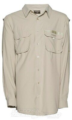Shimano Vented Shirt Oatmeal BRAND NEW @ Ottos Tackle World
