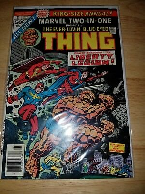 Marvel Two-In-One Annual #1  Thing And Liberty Legion  - High Grade  Vf+