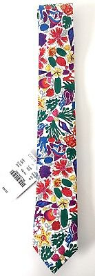 """LIBERTY of LONDON by CREWCUTS Neck Tie Boys 52"""" Large Sea Life Easter Outfit"""