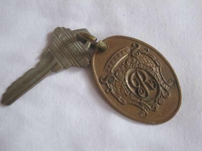 Vintage Hotel Key w/ Fob New York Regency Hotel