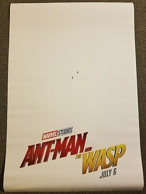 Ant-Man and the Wasp 27x40 Double Sided Movie Theater Poster Teaser Marvel
