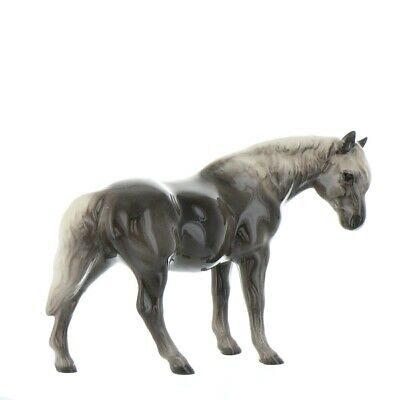 Grey Morgan Mare Miniature Figurine Horse Model Made in USA by Hagen Renaker